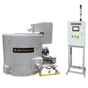 GM-A Series - Gas Melting Round Crucible Furnace