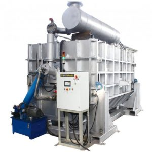 Aluminum Gas Melting Tilting Reverb Furnaces